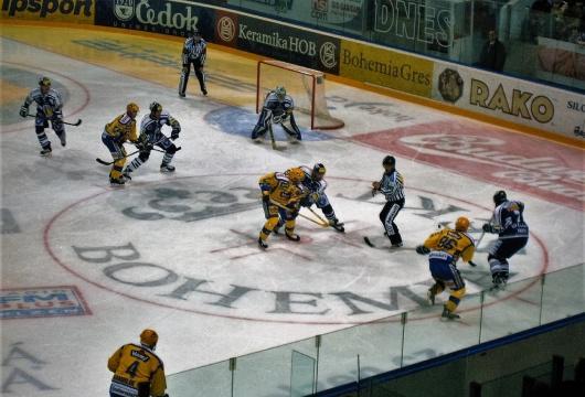Eishockey Spiel Erlebnis in der Tschechischen Republik: HC Skoda Plzen