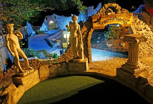Abenteuer Minigolf in der Tschechischen Republik: Pilsener Region