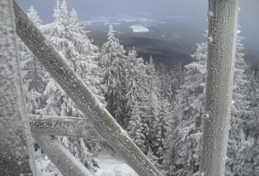 Horská túra v České republice: Šumava hřebeny