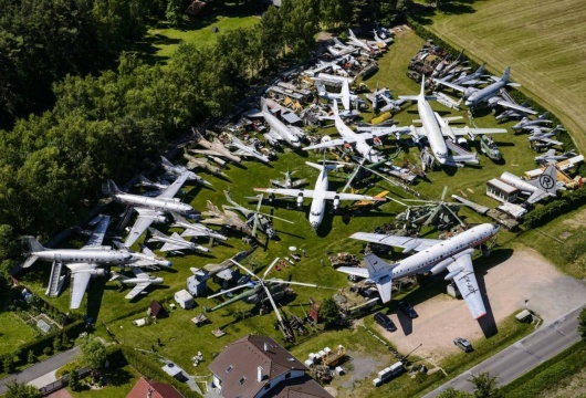 Aviation Museum in the Czech Republic: Pilsen Region