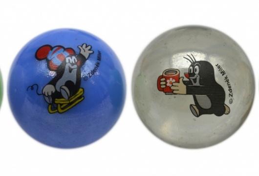 Czech Toy: Litlle Mole Glass Marbles