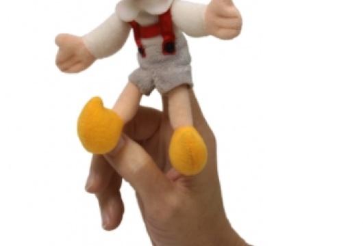 Czech Toy: Finger Puppet Hurvinek