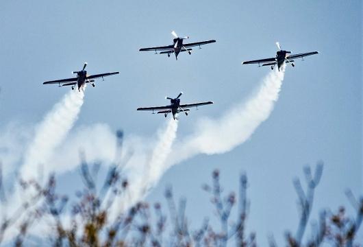 Air Force Day in the Czech Republic: Pilsen Region
