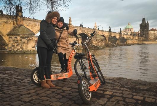 Elektroroller-Fahrten in Tschechien: Prag Stadtzentrum