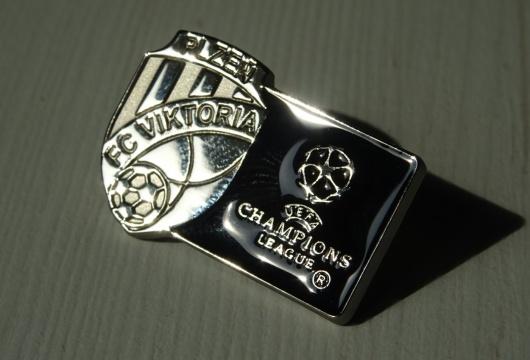 FC Viktoria Plzeň: Champions League Pin Badge