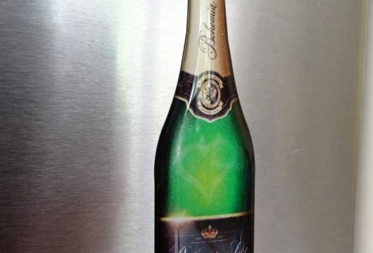 Bohemia Sekt Bottle: Magnet