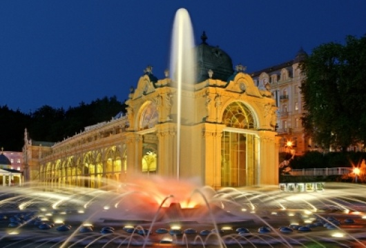 Spa in the Czech Republic: Marienbad Tour and Singing Fountain Performance