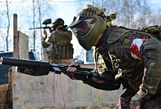 Paintball in the Czech Republic: Pilsen Region