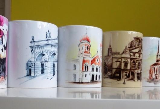 Pilsen Sightseeing: Ceramic Mug