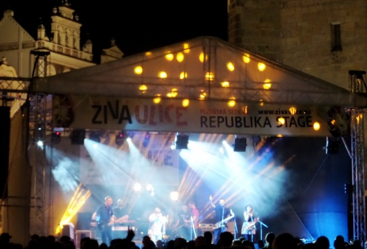 Festival Experience in the Czech Republic: Vivid Street in Pilsen