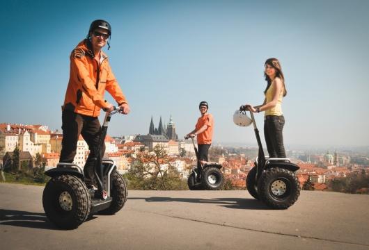 Segway-Fahrten in Tschechien: Prager Stadt