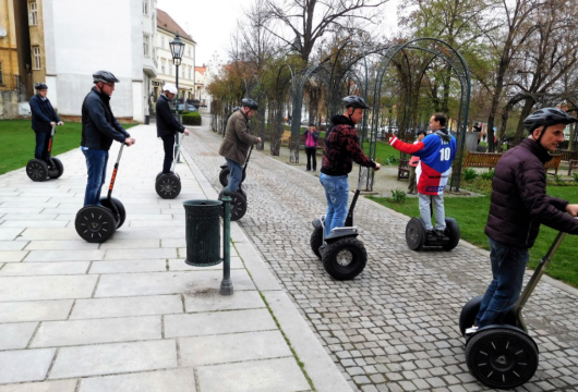 Segway School in the Czech Republic: Pilsen