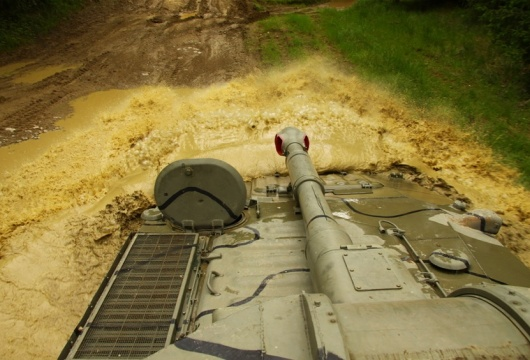 Tank Ride in the Czech Republic: Pilsen Region