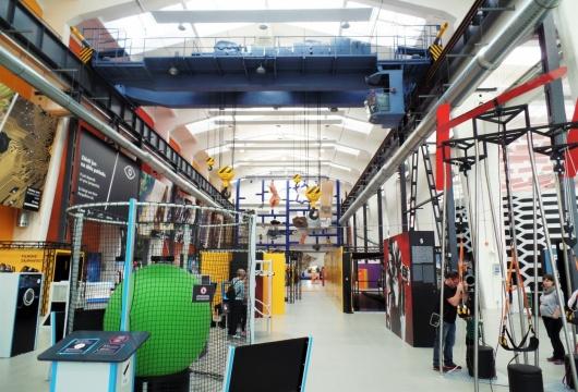 Техноло́гия в Чешской Республике: Научный Центр Техмания