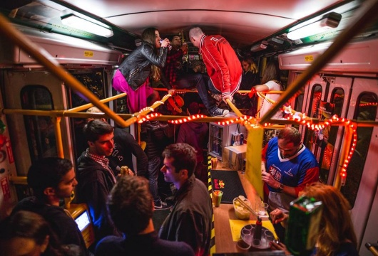 TRAM party in the Czech Republic: Pilsen