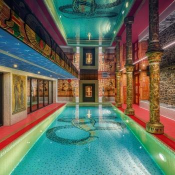 Ancient & Egyptian Bath in the Czech Republic: Pilsen