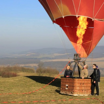 Baloon Flight in the Czech Republic: Bohemia