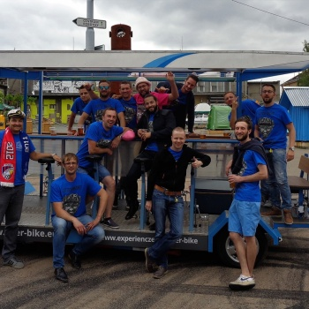 BEER BIKE in the Czech Republic: Pilsen Sightseeing Tour