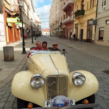 Classic Car Ride in the Czech Republic: Pilsen City - AERO