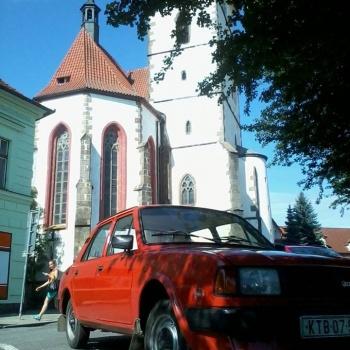 Klassische Autos Fahrten in Böhmen: Region Pilsen - SKODA L120