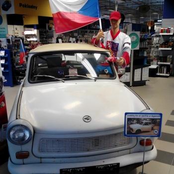Classic Car Ride in the Czech Republic: Pilsen City - TRABANT