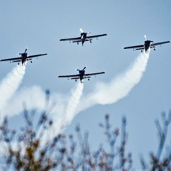 Air Force Day in the Czech Republic: Pilsen Region