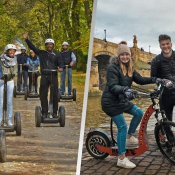 Electric scooters Trip in the Czech Republic: Prague