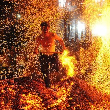 Firewalking and Glasswalking in the Czech Republic: Bohemia