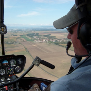 Helicopter Flight in the Czech Republic: Bohemia