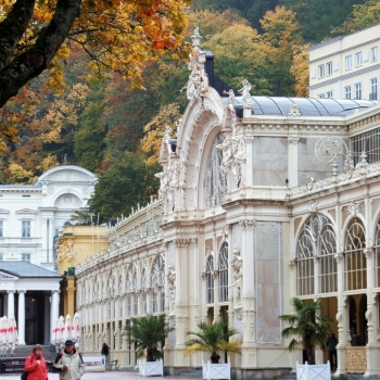Spa in the Czech Republic: Marienbad and Singing Fountain