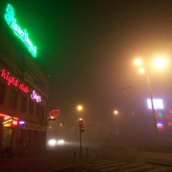 Ночная Пльзень в Чешской Республике: Пльзень