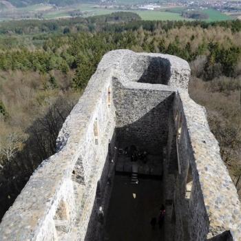 Castles in the Czech Republic: Radyně Royal Castle