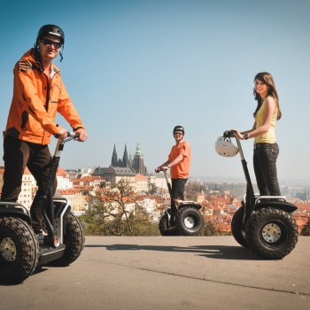 Segway Trip in the Czech Republic: Prague Suburbs