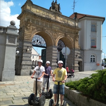 Segway Tour in the Czech Republic: Pilsen City Center