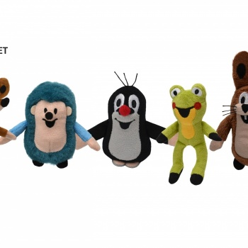 Czech Toy: Magnetic Set of Little Mole and Friends Puppets