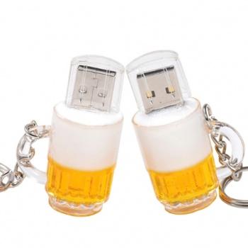 Pilsner Beer Mug: USB Flash Disc - 8 GB