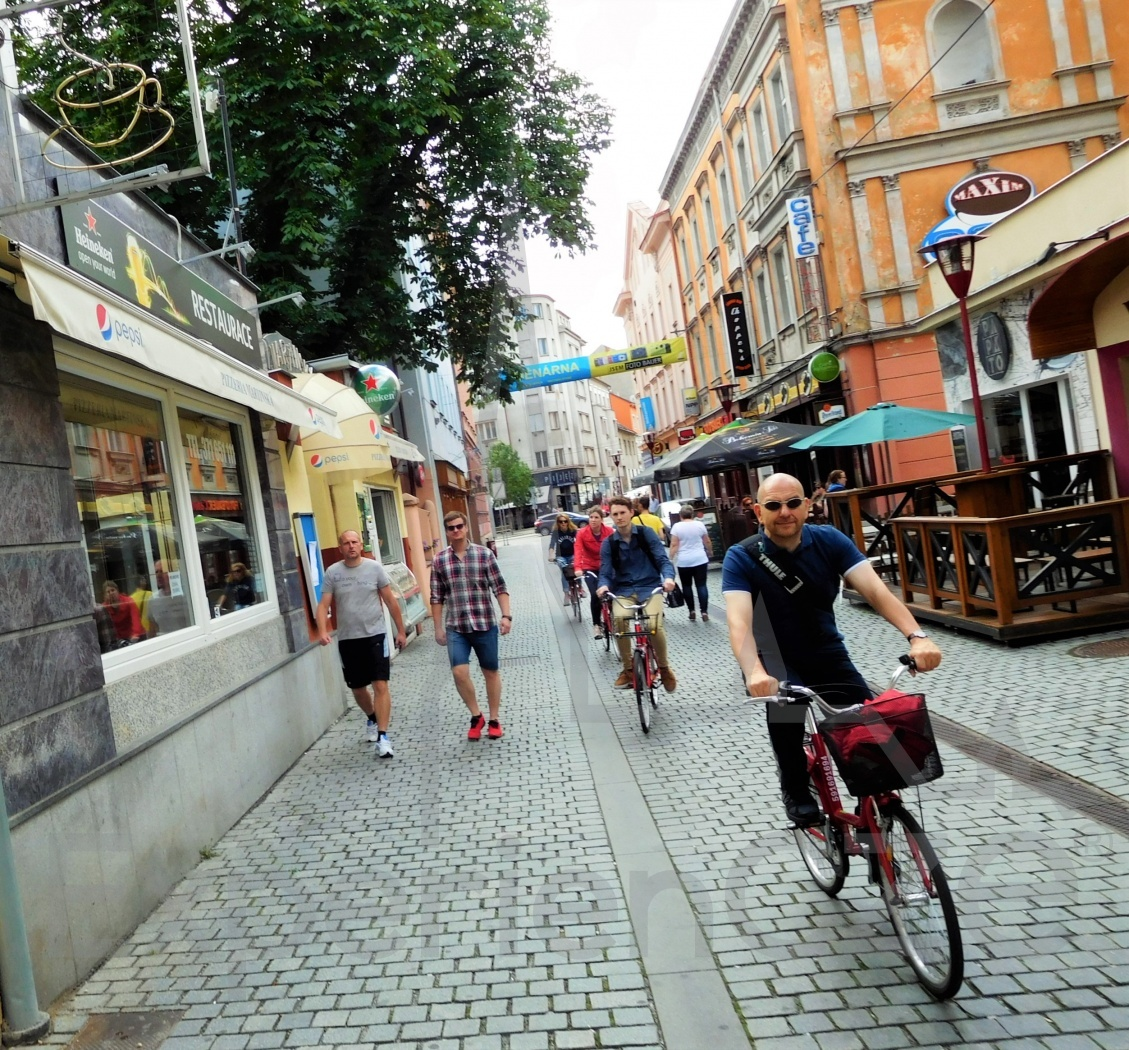 Cycling in the Czech Republic: Cities and Suburbs
